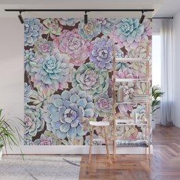 succulent allover Wall Mural