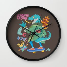 King of Monsters Wall Clock