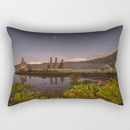 Tamblingan lake before sunrise, Bali - Indonesia Rectangular Pillow
