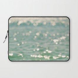beach. bokeh sparkle. ocean. La Mer Laptop Sleeve