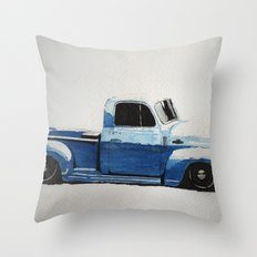 My First Truck Throw Pillow