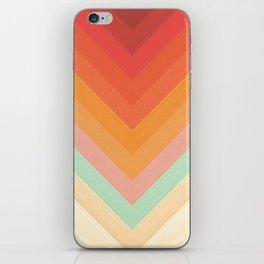 Rainbow Chevrons iPhone Skin