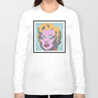 monroe Long Sleeve T-shirts featuring Monroe by ONEDAY+GRAPHIC