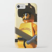 gladiator iPhone & iPod Cases featuring SPARTACUS THE GLADIATOR CUSTOM LEGO MINIFIG by Chillee Wilson by Chillee Wilson [Customize My Minifig]