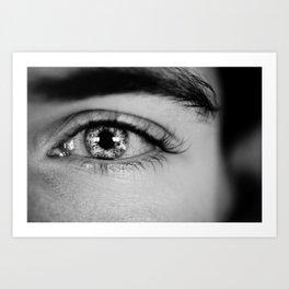 Time in the Eye Art Print