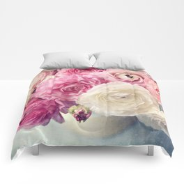 shades of pink Comforters