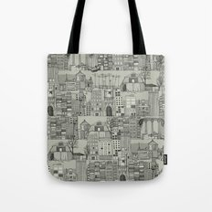 dystopian toile mono Tote Bag