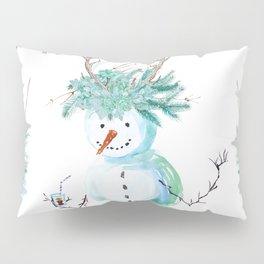 SNOWMAN PARTY ANIMAL Pillow Sham