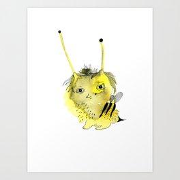 Bee Boo Buup Art Print
