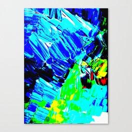 Pop Winter Fields Canvas Print