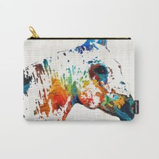 Colorful Horse Art - Wild Paint - By Sharon Cummings Carry-All Pouch