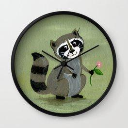 Racoon Wall Clock