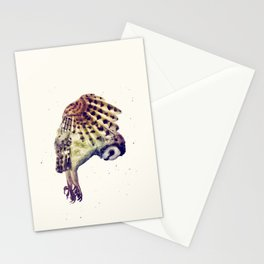 Flying Owl II Stationery Cards