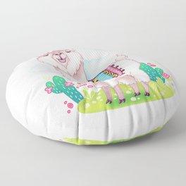 Alpaca Floor Pillow