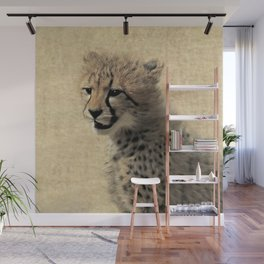 Cheetah cub Wall Mural