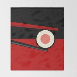 Sushi Flavor Throw Blanket