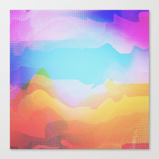 Glitch 18 Canvas Print