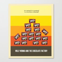 Willy Wonka And The Chocolate Factory Canvas Print