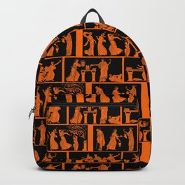 toga party squares Backpack
