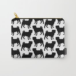 Simple Pug Silhouette Carry-All Pouch