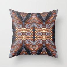 Space Spiral Swirls Throw Pillow