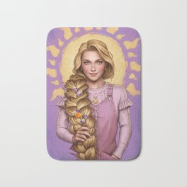 Rapunzel Bath Mat