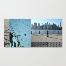 Up / Down / Across Canvas Print