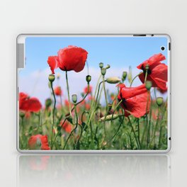 poppy flower no13 Laptop & iPad Skin