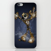 c3po iPhone & iPod Skins featuring ZOMBIE C3PO by alexviveros.net