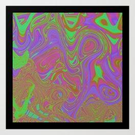 Psicodelia Art Print