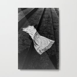Silk And Stone Metal Print