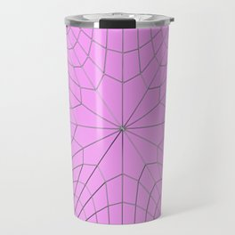 Metal wires on purple surface Travel Mug