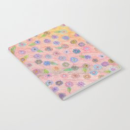 colorful flowers Notebook