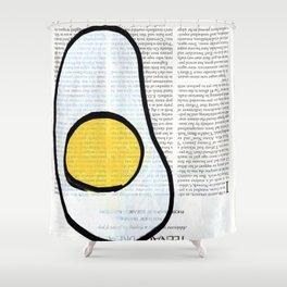 Teenage Dream Fried Egg Shower Curtain