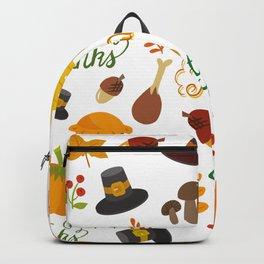 в.𝔩uⓋi𝐝 𝓐𝐑𝕋 𝑅𝑒𝓃𝒹𝒾𝓉𝒾𝑜𝓃𝓈 🆂6 §.ð.†.ß. Society6 - Happy Thanksgiving - Give Thanks Backpack