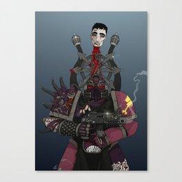 Chaos Space Marine Canvas Print