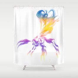 Ichnuemon 3 Shower Curtain