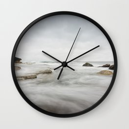 The Incoming Storm Wall Clock