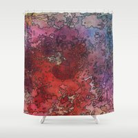barcelona Shower Curtains featuring Barcelona by Andrea Gingerich
