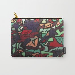 Abstract Graffiti Carry-All Pouch