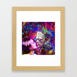 Frankenstein`s Bride Framed Art Print