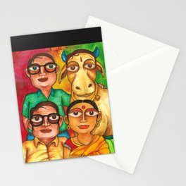 Just another Indian Family Stationery Cards