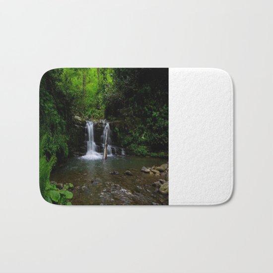 naturel forest lake Bath Mat