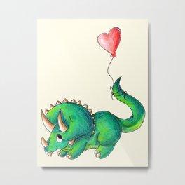 Balloon for Baby (Girl) Metal Print