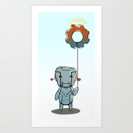 Little Bot Art Print
