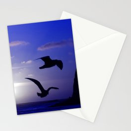 the double bird blues Stationery Cards