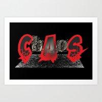 Chaos Art Print