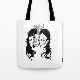 Spit In Two Tote Bag