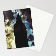 Big Ben up in the clouds Stationery Cards