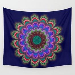 Floral Splendor Wall Tapestry